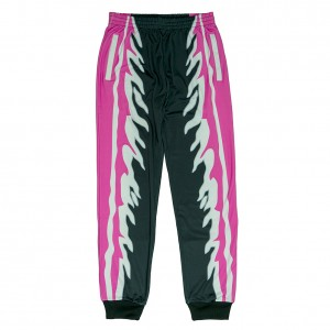"Bret Hart ""Hit Man"" Chalk Line Track Pants"