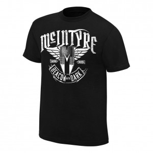 "Drew McIntyre ""Beacon In The Dark"" Youth Authentic T-Shirt"