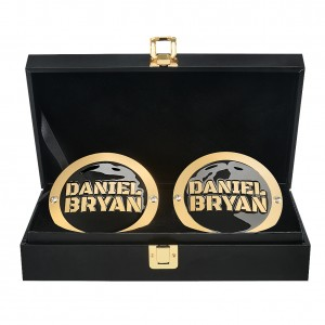 "Daniel Bryan ""The New Daniel Bryan"" Championship Replica Side Plate Box Set"