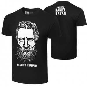 "Daniel Bryan ""Planet's Champion"" Authentic T-Shirt"