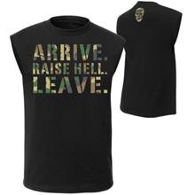 "Stone Cold Steve Austin ""Arrive. Raise Hell. Leave."" Muscle T-Shirt"