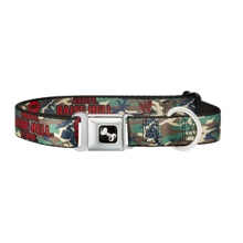 "Stone Cold Steve Austin ""Arrive.Raise Hell.Leave"" Dog Collar"