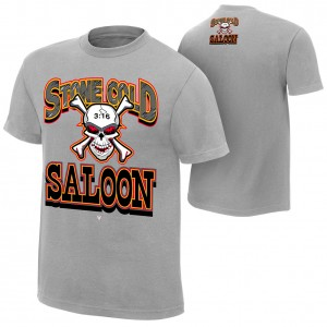 "Stone Cold Steve Austin ""Stone Cold Saloon"" Retro T-Shirt"
