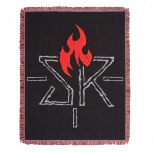 "Seth Rollins ""Ignite the Will"" Tapestry Blanket"