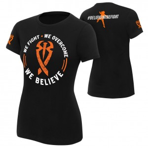 "Roman Reigns ""We Believe"" Women's Authentic T-Shirt"