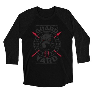 "Roman Reigns ""Guard the Yard"" Raglan Long Sleeve T-Shirt"