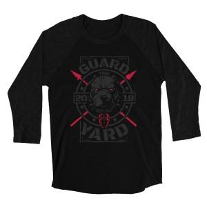 "Roman Reigns ""Guard the Yard"" Raglan Long Sleeve T-Shirt"