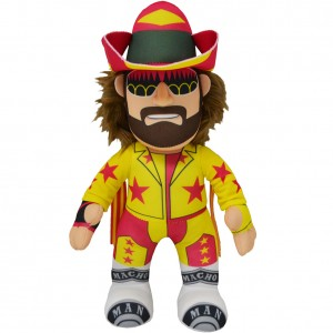 "Macho Man Randy Savage 10"" Plush Bleacher Creature"