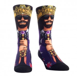 "Macho Man ""Macho King"" Rock 'Em Socks"