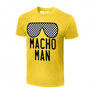"Macho Man Randy Savage ""NYC Legends"" Graphic T-Shirt"