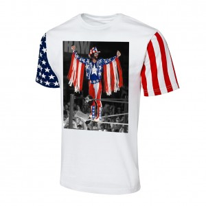 "Macho Man Randy Savage ""Stars & Stripes"" Collection T-Shirt"
