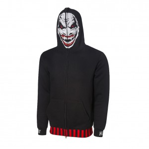 "Bray Wyatt ""The Fiend"" Full Face Zip Hoodie Sweatshirt"