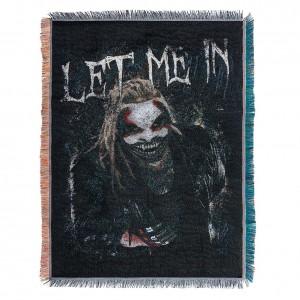 "Bray Wyatt ""Let Me In"" Tapestry Blanket"