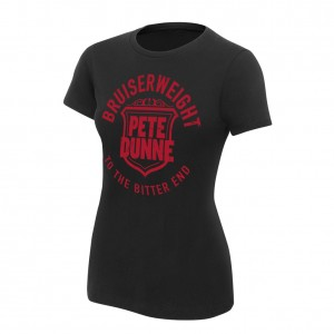 "Pete Dunne ""To The Bitter End"" Women's Authentic T-Shirt"