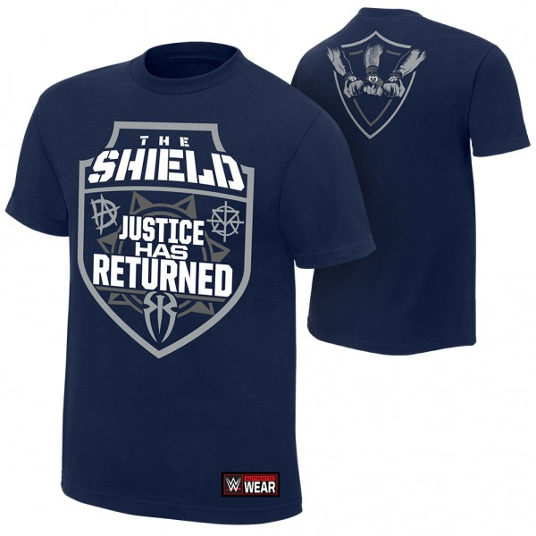 """The Shield """"Justice Has Returned"""" Youth Authentic T-Shirt"""