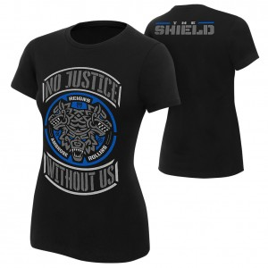 "The Shield ""No Justice Without Us"" Special Edition Women's T-Shirt"