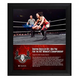 Shayna Baszler NXT TakeOver Toronto 2019 15 x 17 Framed Plaque