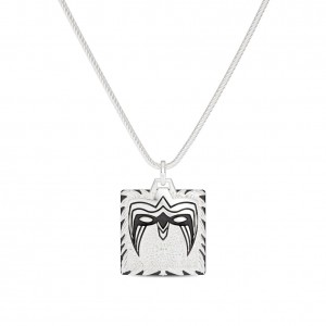 Ultimate Warrior Bixler Pendant in Sterling Silver