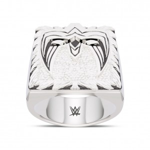 Ultimate Warrior Bixler Ring in Sterling Silver