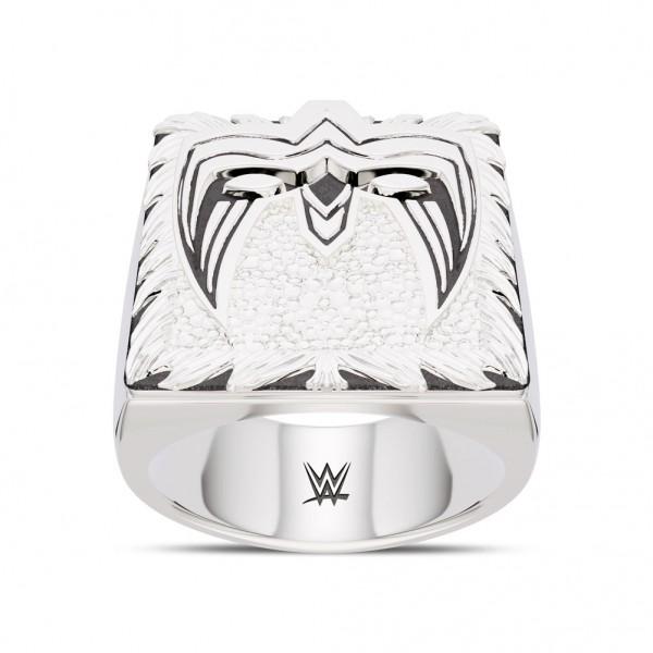 Ultimate Warrior Bixler Ring in Sterling Silver