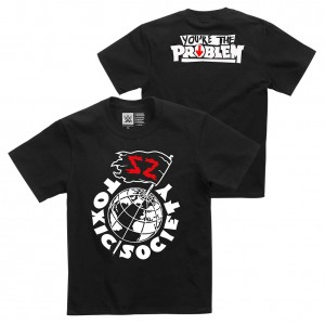 "Sami Zayn ""Toxic Society"" Youth Authentic T-Shirt"