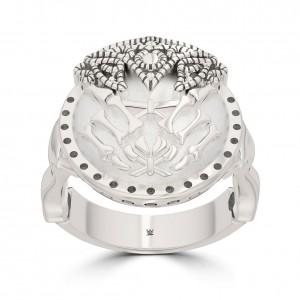 Alexa Bliss Bixler Stackable Ring in Sterling Silver