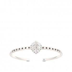 Charlotte Flair Bixler Cuff Bracelet in Sterling Silver