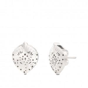 Charlotte Flair Bixler Stud Earrings in Sterling Silver