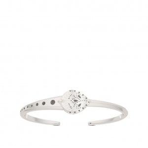 Charlotte Flair Bixler Asymmetric Cuff Bracelet in Sterling Silver