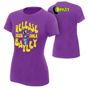 "Bayley ""Release Your Inner Bayley"" Women's Authentic T-Shirt"