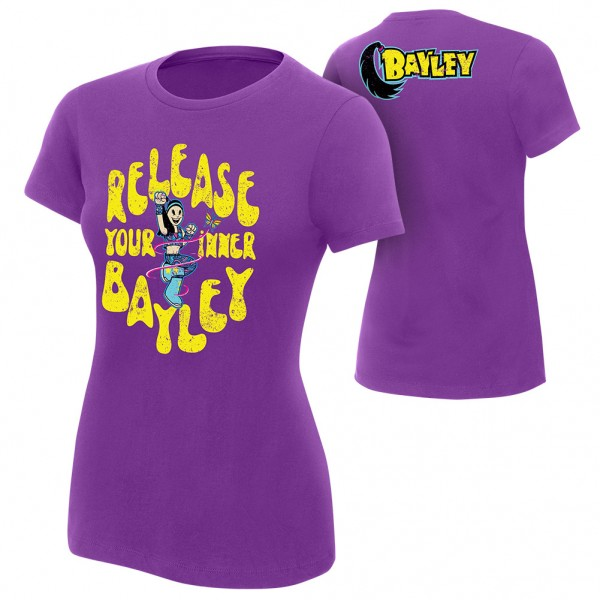 """Bayley """"Release Your Inner Bayley"""" Women's Authentic T-Shirt"""