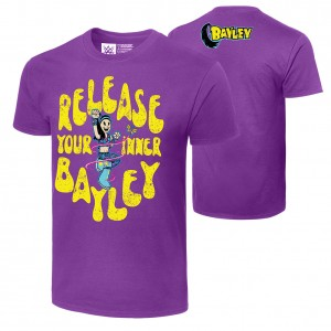 "Bayley ""Release Your Inner Bayley"" Authentic T-Shirt"
