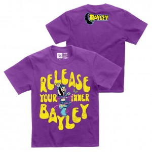 "Bayley ""Release Your Inner Bayley"" Youth Authentic T-Shirt"