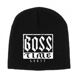 "Sasha Banks ""Boss Time"" Knit Beanie Hat"