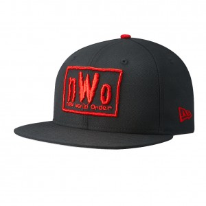 nWo New Era 59Fifty Fitted Hat