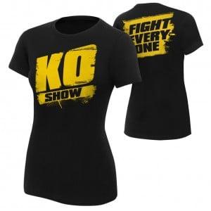 "Kevin Owens ""KO Show"" Women's Authentic T-Shirt"