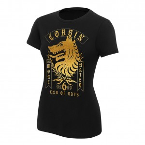 "King Corbin ""None More Hated"" Women's Authentic T-Shirt"