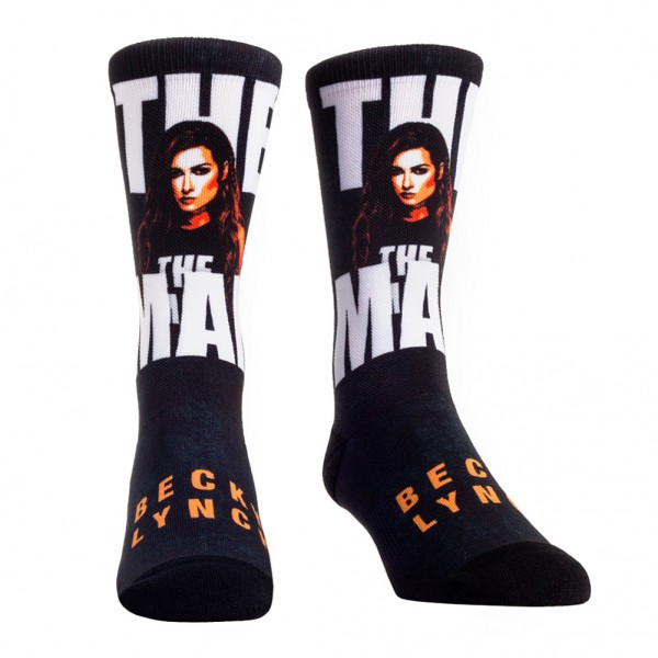 "Becky Lynch ""The Man"" Rock 'Em Socks"