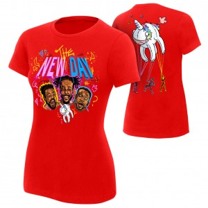 "The New Day ""Unicorn Balloon"" Women's Authentic T-Shirt"