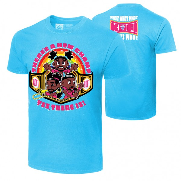 """The New Day """"There's A New Champ"""" Authentic T-Shirt"""