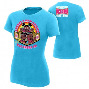 "The New Day ""There's A New Champ"" Women's Authentic T-Shirt"