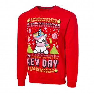 "The New Day ""Unicorn"" Ugly Holiday Sweatshirt"