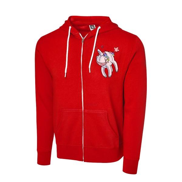 """New Day """"Unicorn"""" Full Zip Hoodie Sweatshirt"""
