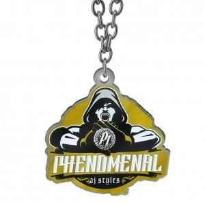 "AJ Styles ""Phenomenal"" Black/Gold Pendant"