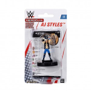 AJ Styles HeroClix Expansion Pack