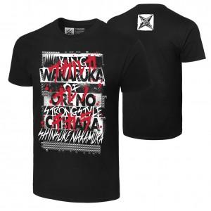 """Shinsuke Nakamura """"Wakaruka Ore No Chikara"""" Authentic T-Shirt"""