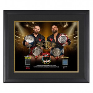 The Revival Triple Crown Tag Team Champions 20 x 24 Commemorative Plaque