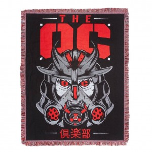 "The Club ""OC"" Tapestry Blanket"