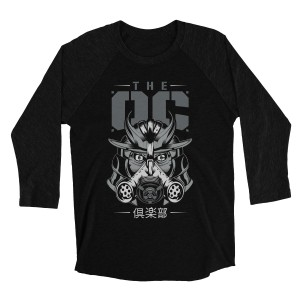 "The Club ""OC"" Raglan Long Sleeve T-Shirt"