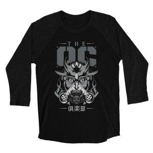 "The Club ""OC"" Raglan Long Sleeve T-Shirt"